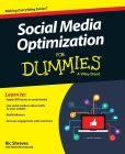 Book Cover Image. Title: Social Media Optimization For Dummies, Author: Ric Shreves