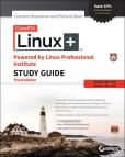 Book Cover Image. Title: CompTIA Linux+ Powered by Linux Professional Institute Study Guide:  Exam LX0-103 and Exam LX0-104 , 3rd Edition, Author: Christine Bresnahan