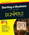 Book Cover Image. Title: Starting a Business All-In-One For Dummies, Author: Consumer Dummies