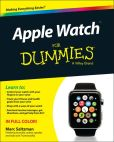 Book Cover Image. Title: Apple Watch For Dummies, Author: Marc Saltzman
