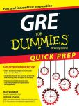 Book Cover Image. Title: GRE For Dummies, Author: Ron Woldoff