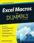 Book Cover Image. Title: Excel Macros For Dummies, Author: Michael Alexander