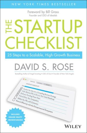 The Startup Checklist: 25 Steps to Scalable, High-Growth Business