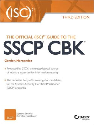 The Official Isc 2 Guide To The Sscp Cbk Pdf Download Mon Premier