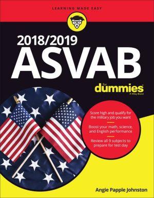 Book 2018 / 2019 ASVAB For Dummies
