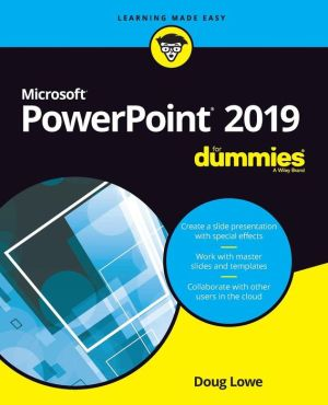 Book PowerPoint 2019 For Dummies
