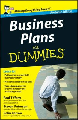 Business Plans for Dummies, UK Edition