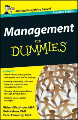 Management For Dummies<sup>?</sup>, UK Edition