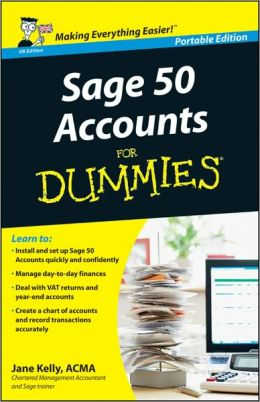 Sage 50 Accounts For Dummies<sup>&#174;</sup>