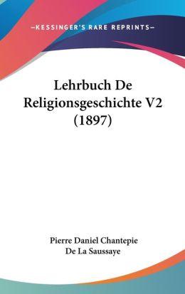 Lehrbuch De Religionsgeschichte V2 (1897)