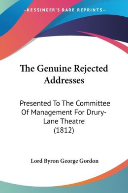 The Genuine Rejected Addresses