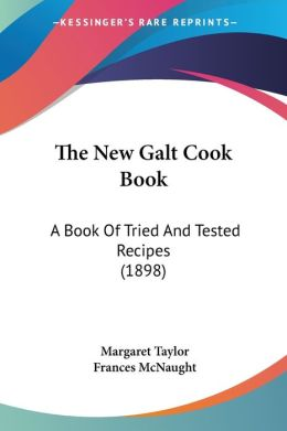 The New Galt Cook Book