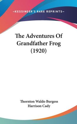The Adventures Of Grandfather Frog (1920)