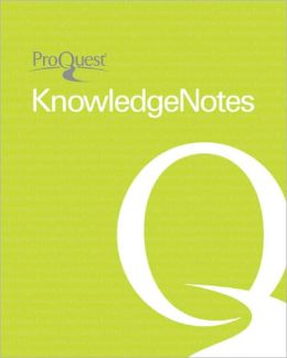 O Yes (KnowledgeNotes Student Guides)