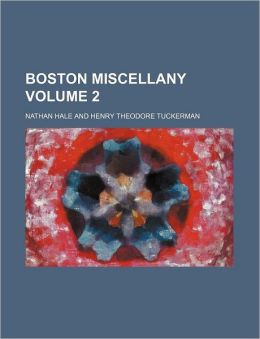 Boston Miscellany