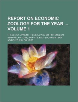 Report on Economic Zoology for the Year