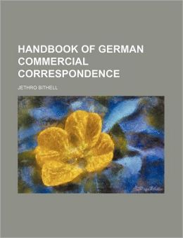Handbook of German Commercial Correspondence