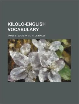 Kilolo-English Vocabulary