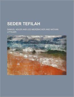 Seder Tefilah