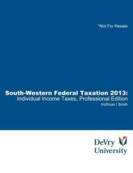 South-Western Federal Taxation: Indiv.. 13