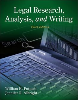 Legal Research, Analysis, and Writing / Edition 4 by Joanne Banker ...