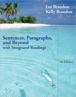paragraphs essays lee brandon Brandon, lee, and kelly brandon paragraphs and essays: with integrated  readings 12th ed, belmont, ca, cengage learning, 2012 $6000.
