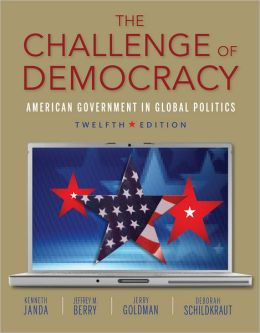 The Challenge of Democracy (with Aplia Printed Access Card)