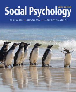 Cengage Advantage Books: Social Psychology