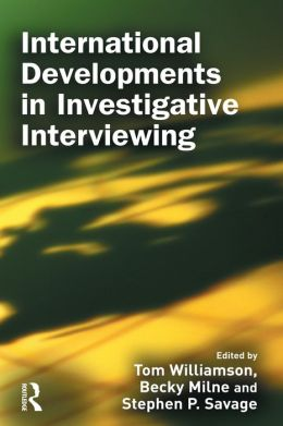International Developments in Investigative Interviewing