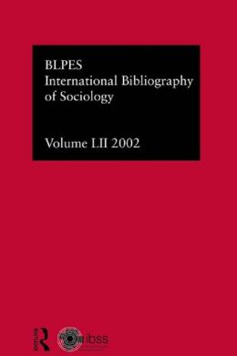 IBSS: Sociology: 2002 Vol.52