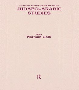 Judaeo Arabic Studies