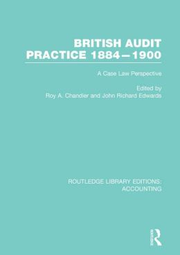 British Audit Practice: A Case Law Perspective