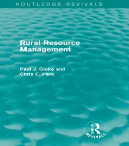 Rural Resource Management