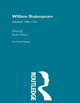 William Shakespeare Vol 2