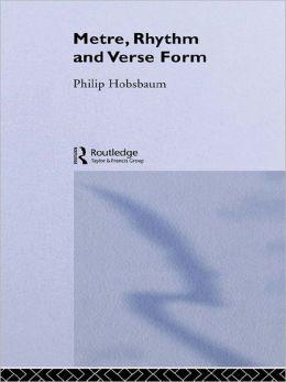 Metre, Rhythm and Verse Form