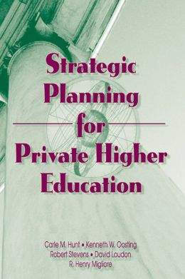 Strategic Planning for Private Higher Education