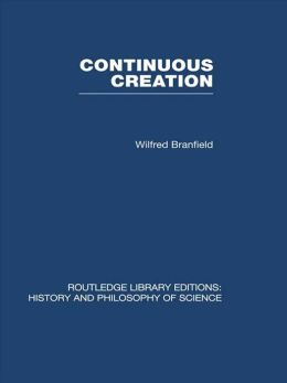 Continuous Creation: A Biological Concept of the Nature of Matter