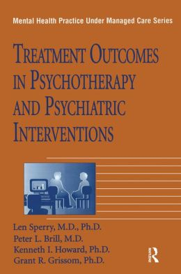 Treatment Outcomes In Psychotherapy And Psychiatric Interventions