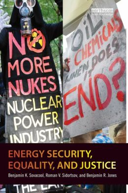 Energy Security, Inequality and Justice