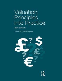 Valuation: Principles into Practice