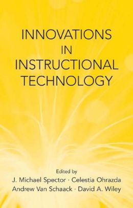 Innovations in Instructional Technology: Essays in Honor of M. David Merrill