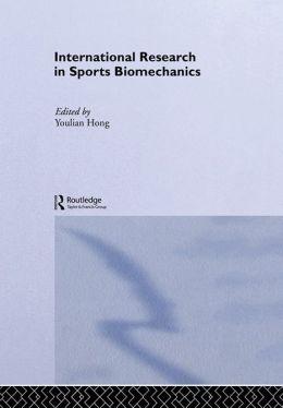 International Research in Sports Biomechanics