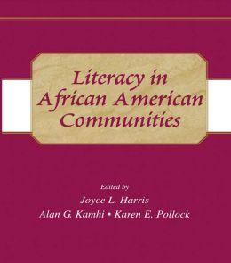Literacy in African American Communities