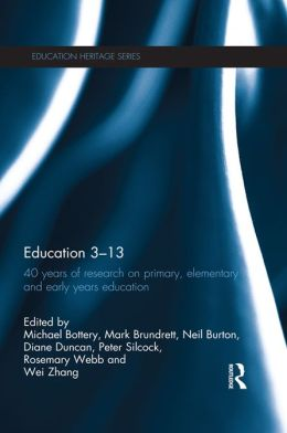 Education 3-13: 40 Years of Research on Primary, Elementary and Early Years Education