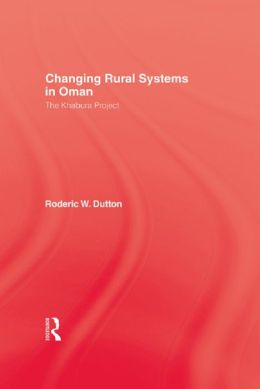 Changing Rural Systems In Oman
