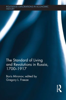 The Standard of Living and Revolutions in Imperial Russia, 1700-1917