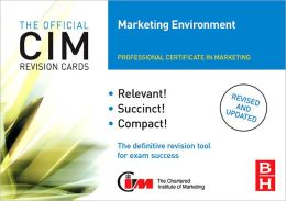 CIM Revision Cards Marketing Environment