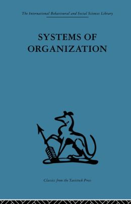 Systems of Organization: The control of task and sentient boundaries