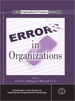 Errors in Organizations