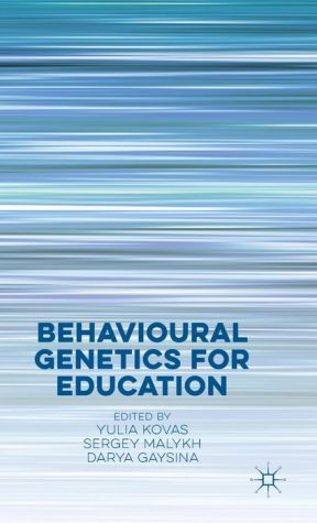 Behavioural Genetics for Education
